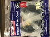 Universal Electric Dryer Cord 6 Ft 4 Wire 30 Amp 250vac Appliance Parts