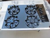 Ge Jgp930sed1ss 30 Gas On Glass Cooktop