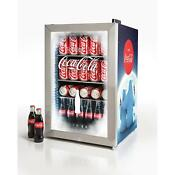 Coca Cola Bear 2 4 Cu 80 Can Limited Edition Commercial Beverage Fridge Cooler