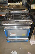 Frigidaire Fpds3085pf 30 Stainless Slide In Dual Fuel Range Nob 22604