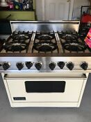 Viking Range Vdsc365 6bal Pro Duel Fuel Oven 6 Burners Including Range Hood