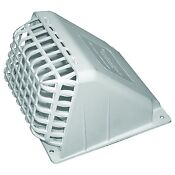 Deflecto 4 Replacement Part Dryer Vent Hood White Exhaust Fan Cover Wide Mouth