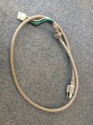 Ge Profile Microwave Oven Power Cord P N Wb18x10353