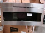 Sharp Smd3070as 30 Microwave Drawer 1 2 Cu Ft Stainless Steel Local Pickup