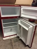 New Red Ginny S 3 1 Cu Ft Mini Compact Refrigerator Freezer Pick Up Only