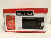 Magic Chef 700w Power 0 7 Cu Ft Compact Kitchen Microwave Mcm770b1 Black