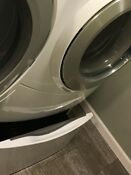 Whirpool Duet Front Loading Washer With Pedestal