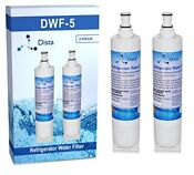 2 Pack Whirlpool 4396510 Compatible Water Filter 2 Pack