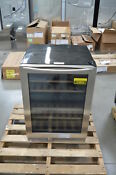 Insignia Ns Wb44ss8 24 Stainless Built In Wine Refrigerator Nob 24834 Hl