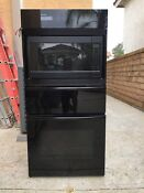 Oven 27 Electric Convection Oven Micro Wave Heated Drawer Combo