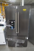 Kitchenaid Krfc704fbs 36 Black Stnl French Door Refrigerator Nob Cd 25706 Hl