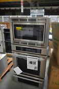 Thermador Medmcw31js 30 Stainless Triple Combo Wall Oven Nob 25891 Hl
