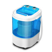 Portable Compact Washing Machine Spin Wash 8 8 Lbs Capacity Mini Laundry Washer