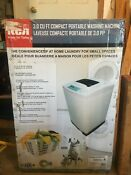 Rca 3 0 Cu Ft Compact Portable Washing Machine Model Rpw302