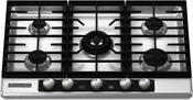 Kitchenaid Kfgu706vss Architect Ii 30 Stainless 5 Burner Gas Cooktop New Deal