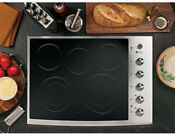 Ge Pp944stss 30 Stainless Black Smoothtop Electric Drop In Cooktop Nib New Deal
