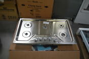Kitchenaid Kcgs356ess 36 Stainless 5 Burner Gas Cooktop Nob 27831 Hl