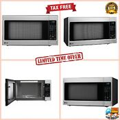 Lg 2 0 Cu Ft Kitchen Counter Top Microwave Oven Led Display Stainless Steel