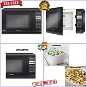 Panasonic 1 2 Cu Ft Digital Microwave Oven 1200 Cooking Watt Inverter Technology