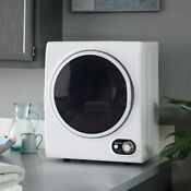 Electric Dryer In White Magic Chef Compact 1 5 Cu Ft Countertop Dryer White