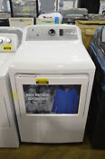 Ge Gtd75ecslws 27 White Front Load Electric Dryer Wifi Connect Nob 28418 Wlk