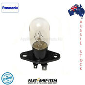 F612e4y00xp Panasonic Microwave Light Globe 240 Volt 25w With Base Flat Spades