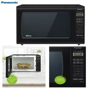 1250w 2 2 Cuft Panasonic Microwave Oven Countertop W Cooking Food Kitchen Home