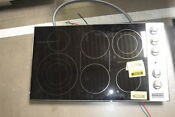 Viking Vec5366bsb 36 Stainless Smoothtop Electric Cooktop Nob 32159 Hrt