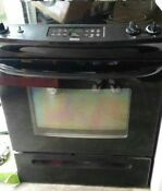 Glass Top Range Oven Slide In With Standard Counter H W D Weight 200 Obo