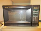 Sharp 0 7 Cu Ft Countertop Microwave Oven Small Space Kitchen Dorm Apt