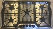 Thermador Masterpiece Series Stainless Black 5 Star Burner 36 Gas Cooktop