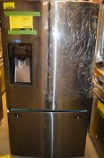 Samsung Rf263teaesg 36 Black Stainless French Door Refrigerator Nob 13027 Mad