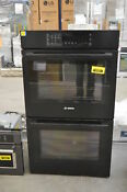 Bosch 800 Hbl8661uc 30 Black Convection Electric Double Wall Oven 35391 Cln