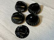 Lot Of Frigidaire Electrolux Gas Stove Burner Knobs 6r81 Fast Free Shipping
