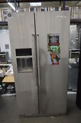 Kitchenaid Krsc503ess 36 Stainless Side By Side Refrigerator Cd Nob 33906 Clw