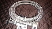 Braided Washing Machine Connector Stainless Steel 3 4 Washer Hose 60 Fht 5