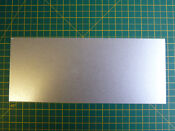 Universal Cookworks Microwave Waveguide Cover For 300mm X 125mm Cut To Si