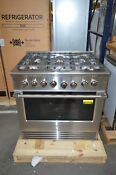 Fisher Paykel Rdv2366nn 36 Stainless Dual Fuel Natural Gas Range T2 39066 Clw