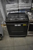 Ge Js760blts 30 Black Stainless Slide In Electric Range Nob 39919 Clw