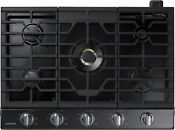 Samsung Na30k7750tg 30 Black Stainless Gas Cooktop Nob 30694 Clw