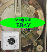 Avanti D110 Dryer Fan Belt Free Shipping Green Belt Replacement New Warranty