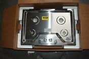 Whirlpool Wcg55us0hs 30 Stainless 4 Burner Gas Cooktop Nob 31240 Clw
