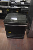 Ge Profile Phs930blts 30 Black Stainless Slide In Electric Range Nob 26358 Mad