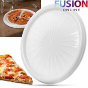 Microwave Pizza Tray Plate Reheat Leftovers Slice Fresh Kitchen Utensil Hot