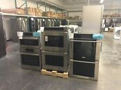 Nob Electrolux Ew30ew65ps 30 Inch Double Electric Wall Oven Stainless And Black