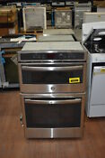 Ge Jk3800shss 27 Stainless Electric Combination Wall Oven Nob 41212 Mad