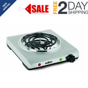 Electric Single Coil Cooking Range Stainless Steel Portable