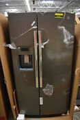 Ge Gss25gmhes 36 Slate Side By Side Refrigerator Nob 41961 Hrt
