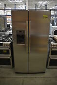 Ge Gss25gshss 36 Stainless Side By Side Refrigerator Nob 42172 Hrt