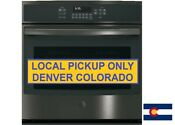 Ge 30 Built In Single Electric Convection Wall Oven Black Stainless Steel